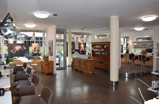 Friseursalon Mannheim Interieur