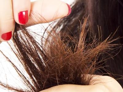 Sonnengeschädigtes Haare